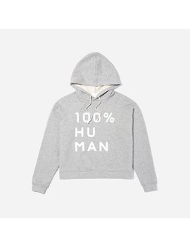 The 100% Human French Terry Hoodie In Large Print by Everlane