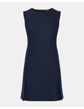 Bi Stretch Vented Front Shift Dress by Theory