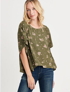 Printed Swing Top by Lucky Brand