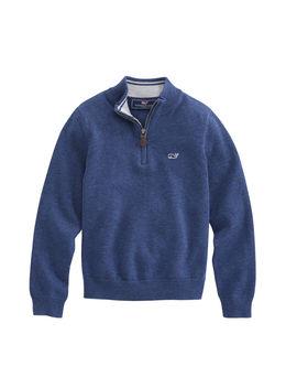 Boys 1/2 Zip Sweater by Vineyard Vines