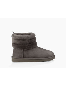 Fluff Mini Quilted Logo Boot by Ugg