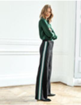 Sherborne Side Stripe Trousers by Boden