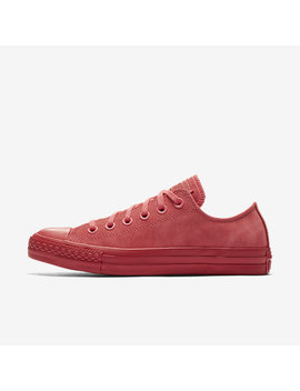 Converse Chuck Taylor All Star Mono Suede Low Top by Nike