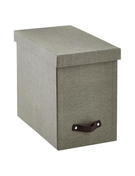 Bigso Marten Grey Desktop File by Container Store