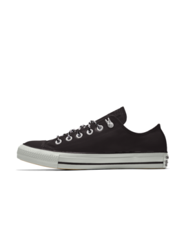 Converse Custom Chuck Taylor All Star Metallic Leather Low Top by Nike