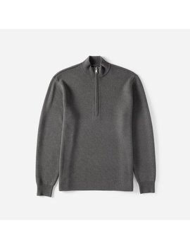 The Midweight Merino Half Zip by Everlane