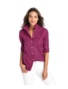 Mini Gingham Classic Button Down by Vineyard Vines