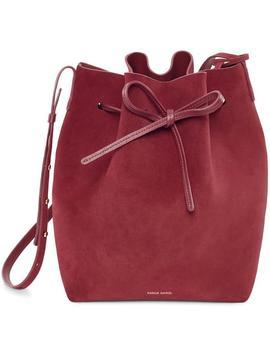 Suede Bucket Bag by Mansur Gavriel