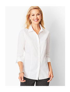 Perfect Shirt   Solid by Talbots