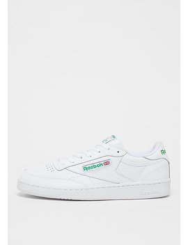 Club C 85 White/Green by Reebok