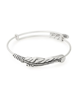 Feather Spiritual Armor Bangle by Alex And Ani