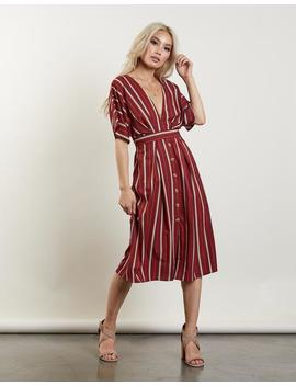 Last Chance Striped Dress by 2020 Ave