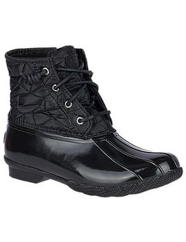 Women's Saltwater Quilted Nylon Duck Boot by Sperry