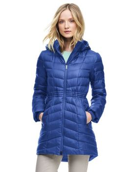 Women's Petite Casual Down Coat by Lands' End