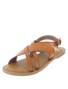 Women's Tapsy Flat Sandal by Learn About The Brand Brash