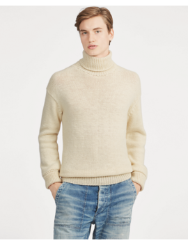 Wool Turtleneck Jumper by Ralph Lauren