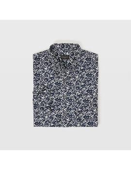 Slim Shadow Floral Shirt by Club Monaco