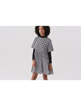 Lazy Oaf Heart In Check Dress by Lazy Oaf