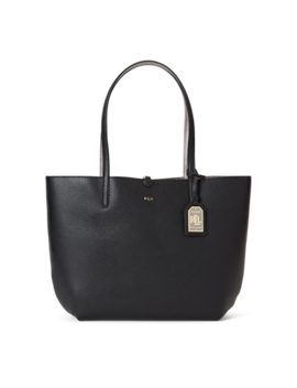 Reversible Pebbled Olivia Tote by Ralph Lauren