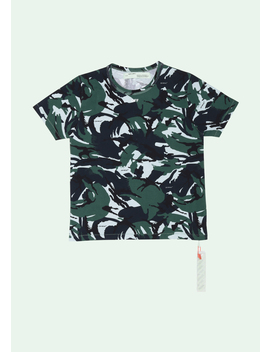 Camouflage T Shirt by Off White