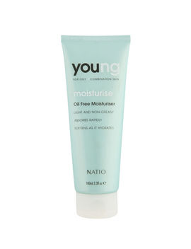 Natio Young Oil Free Moisturiser (100ml) by The Hut