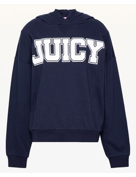 Jxjc Oversize Collegiate Juicy Hooded Pullover by Juicy Couture