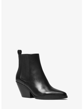 Sinclair Leather Ankle Boot by Michael Michael Kors