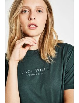 Earnest Cropped T Shirt by Jack Wills