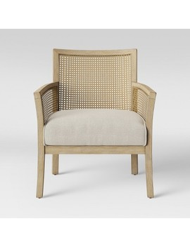 laconia-caned-accent-chair-beige---threshold by shop-collections