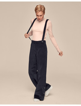 Cord Trousers With Braces by Me+Em