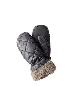 Goose Down Mittens With Faux Fur Cuffs by Wind River