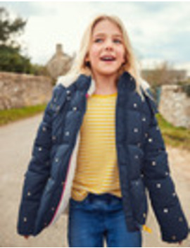 Cosy Two In One Padded Jacket by Boden