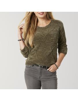 Laura Scott Women's Chenille Sweater by Sears