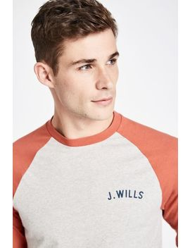 Marchfield Long Sleeve Baseball Tshirt by Jack Wills