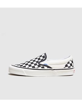 Vans Anaheim Slip On Checkerboard by Vans