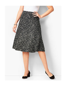 Tweed Knit Skirt by Talbots