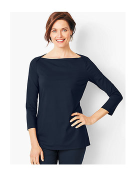 Knit Jersey Tunic Top by Talbots