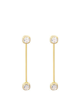 Pave Asscher Linear Ear Jacket by Henri Bendel