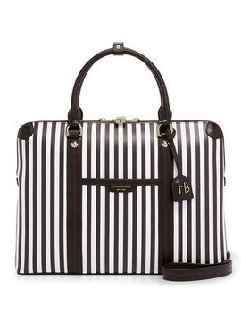 Centennial Stripe Briefcase by Henri Bendel