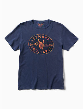 Fender Rock Hand Tee by Lucky Brand