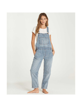 All Over Denim Overalls by Billabong