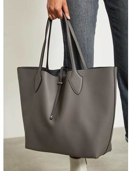 Cosima Ash Tote Bag by Mint Velvet