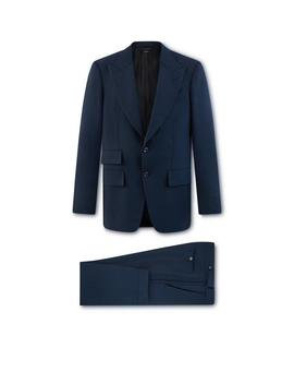 Blue Mohair O'connor Suit by Tom Ford