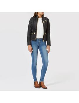 Barbour International Women's Weld Quilt Jacket   Black by The Hut