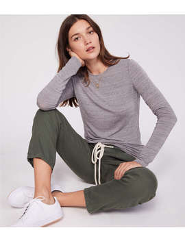 Lou & Grey Softened Jersey Layering Tee by Lou & Grey