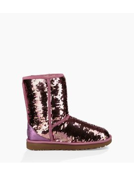 Classic Short Sequin Boot by Ugg