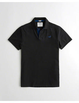 Stretch Icon Polo by Hollister