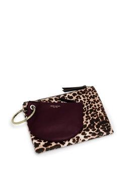 Leopard Bracelet Clutch by Henri Bendel