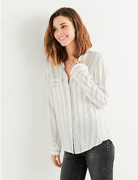 Stripe Shirt Button Up by Lucky Brand
