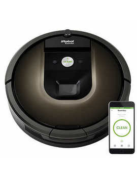 I Robot Roomba 980 Wi Fi Connected Vacuuming Robot by Costco